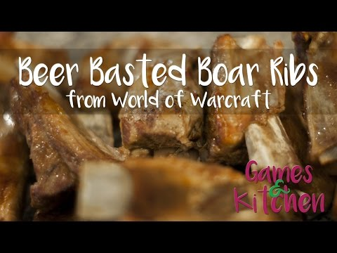 Beer Basted Boar Ribs from World of Warcraft [Real Recipe]