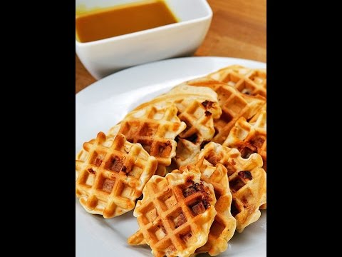 How to make Chicken And Waffle Bites