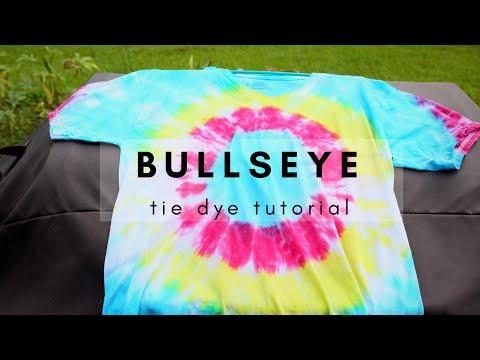 BULLSEYE TIE DYE/Leaa
