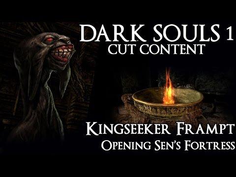 Dark Souls 1 Cut Content - Kingseeker Frampt Alternative Dialogue