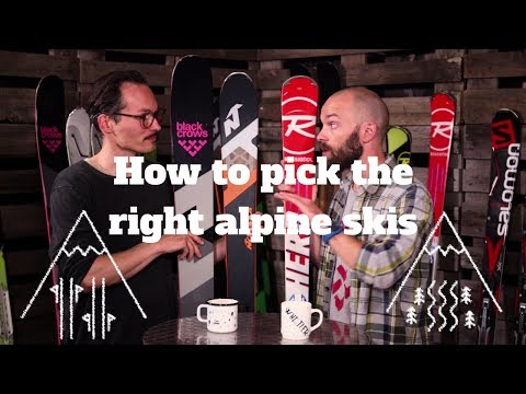 How to pick the right skis | Alpine Ski Guide | SkatePro.com