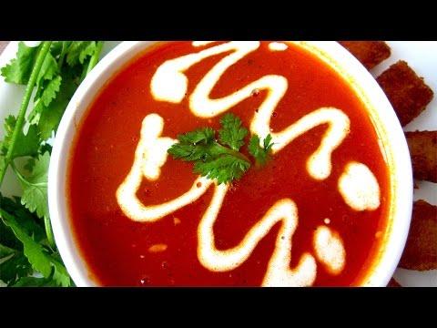 Tomato Soup Recipe in Hindi - टमाटर सूप रेसिपी by Sonia Goyal @ jaipurthepinkcity.com