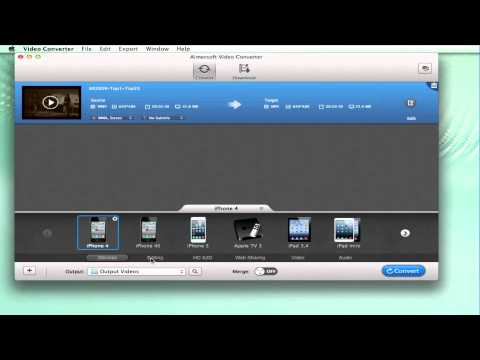 How to Convert and Import WMV to iMovie
