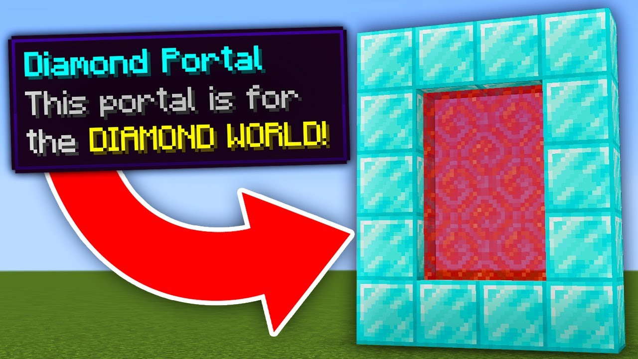 Minecraft, But There Are Custom Portals...
