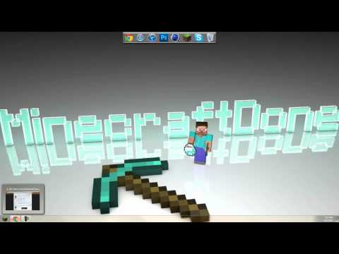 Minecraft- How to change your worlds between Creative and Survival Easy! [1080p HD]
