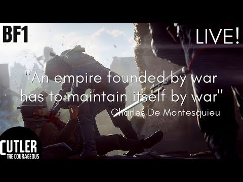 LIVESTREAM Battlefield 1 Grind to 1100 Courageous Supporters.