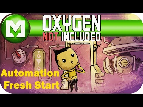 Oxygen Not Included - Automation Update early access - Play through