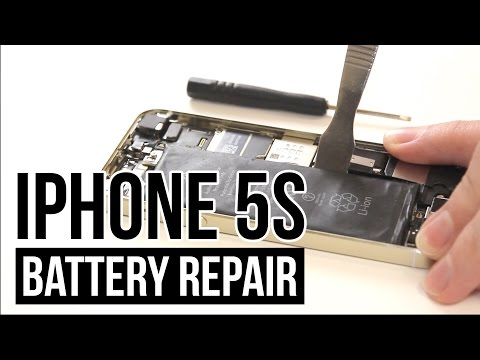 iPhone 5s Battery Replacement Video Guide