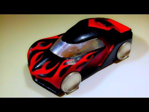 How I Spray Graphics On The Clay Car Model I Make