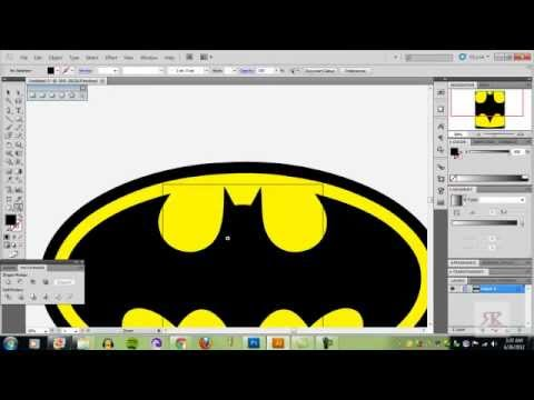How to vectorize an image Adobe Photoshop and Illustrator cs5