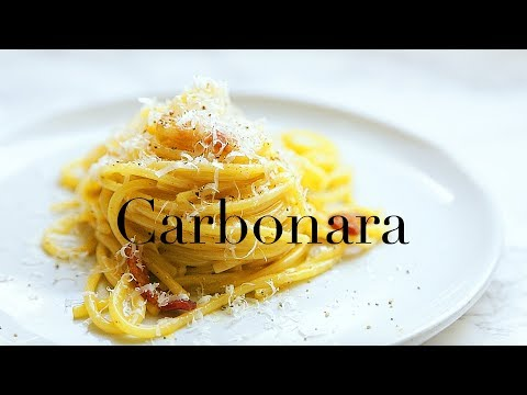 How To Make The Easiest Carbonara