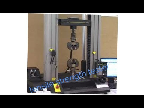 Tensile strength tester by Digitech electronics