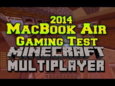 2014 MacBook Air Gaming Test: Minecraft Multiplayer