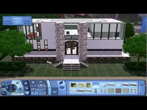 The Sims 3 - Small Modern House Build