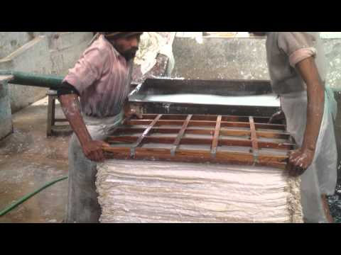Our visit to a paper mill in Jaipur - India - March 2014