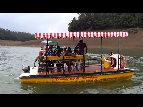 Ooty tourism –Glimpse of Pycara Boating
