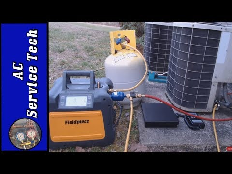HVAC Refrigerant Recovery Process, Full Demonstration!