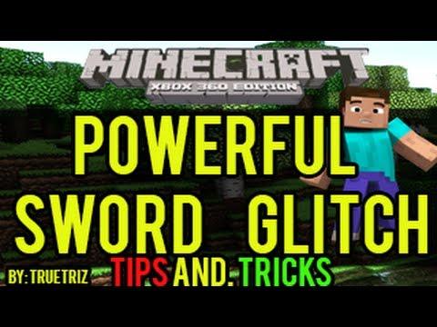 Minecraft (Xbox 360) - Powerful Sword Glitch