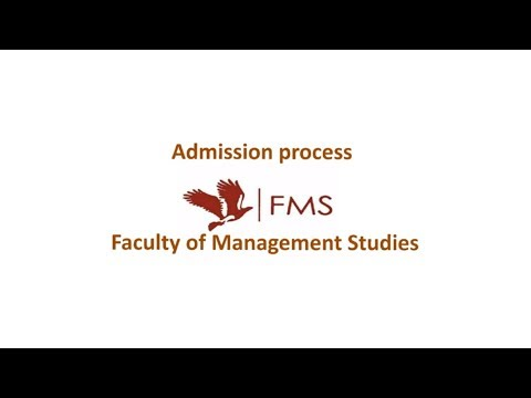 FMS Delhi. Admission process. Cutoffs Details and Weightages.