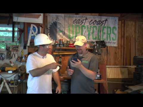 Season 1, Episode 38: Coat Hook Build Time with East Coast Upcyclers and Habitat For Humanity