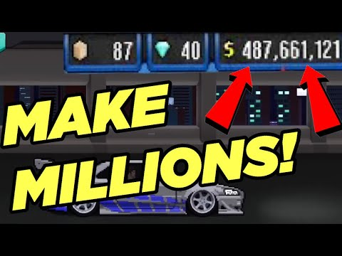 OMG! HOW TO MAKE MILLIONS OF CASH IN PIXEL CAR RACER IN LESS THAN A DAY!!! | Pixel Car Racer