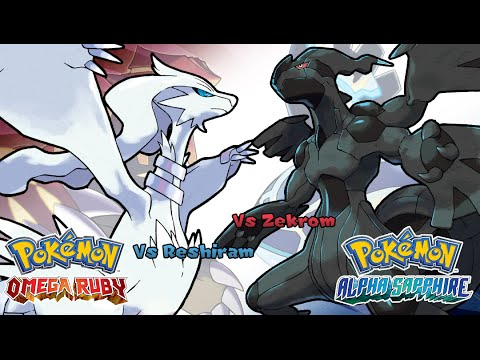 Pokemon Omega Ruby/Alpha Sapphire - Battle! Reshiram/Zekrom Music (HQ)