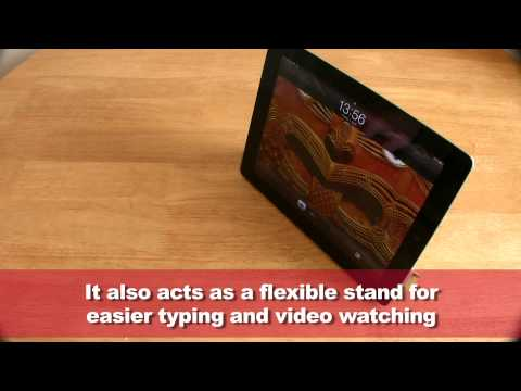 iPad 2 Smart Cover in action