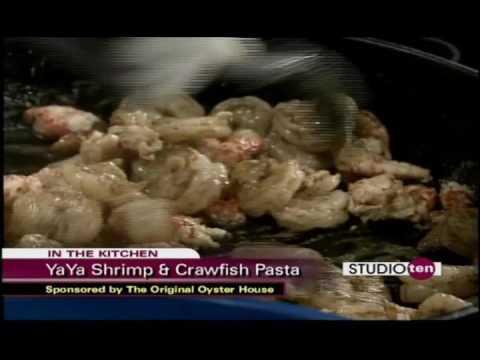 Original Oyster House YaYa Shrimp & Crawfish Pasta