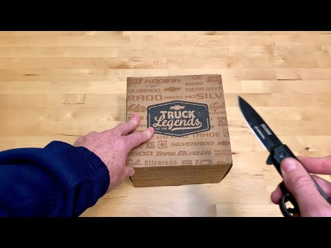 Chevy Truck Legends Swag Unboxing