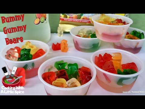 How to Make Rummy Gummy Bears