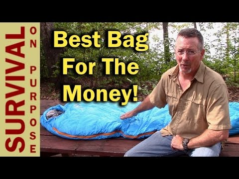 Best Lightweight Sleeping Bag for the Money - Outdoor Vitals Summit 20