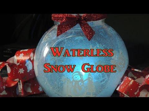 Waterless Snow Globe