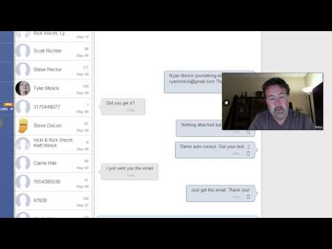Get text messages on your computer!