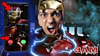 DO NOT CALL IRON MAN AT 3AM!! *OMG I GOT SUPER POWERS*