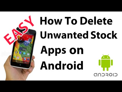 How To Delete Stock (Pre-Installed) Android Apps On Phones/Tablets No Root