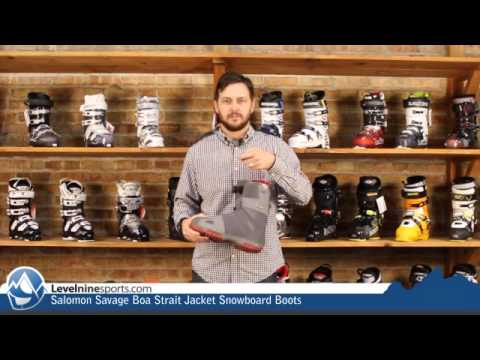 Salomon Savage Boa Strait Jacket Snowboard Boots