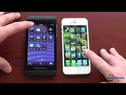 iPhone 5 vs. BlackBerry Z10