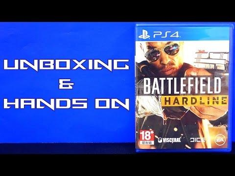 Unboxing & Hands On: Battlefield Hardline (PS4)