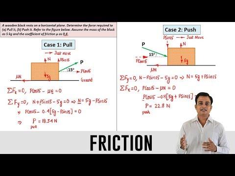 Friction | Problem 1