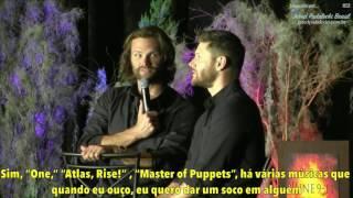 Jared e Jensen - Músicas e Misha x Mark (PHXCon pt 6) Legendado