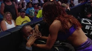 Alicia Fox has an epic meltdown!