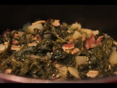Southern Turnip Greens Recipe | I Heart Recipes