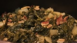 Southern Turnip Greens Recipe I Heart Recipes