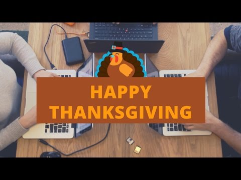 Happy Thanksgiving from Paige Media!