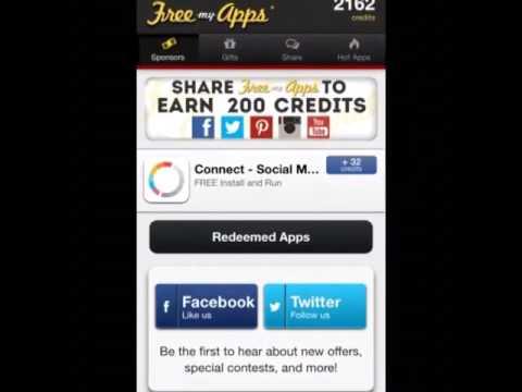 2014 Freemyapps Hack Credits November.