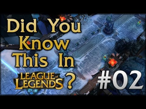 Did You Know This in League of Legends? - Episode 2