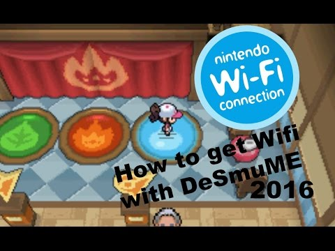 Tutorial - How to get Wi-Fi on desmume
