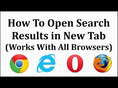 How to Always Open Search Results in New Tab in Chrome and Mozilla - TwinklePC