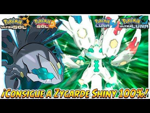 [Evento] ¡Consigue a Zygarde Shiny Forma 100%! - Pokémon Ultrasol, Ultraluna, Sol y Luna