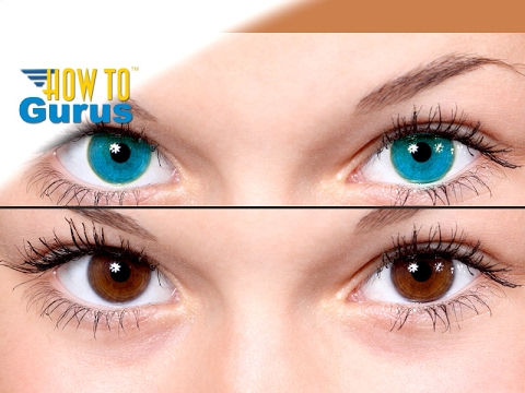 How To Easily Change Portrait Eye Color in Photoshop Elements 2018 15 14 13 12 11 Tutorial